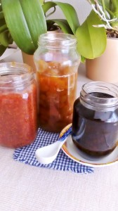 Μαρμελάδα σύκο-γλυκό βύσσινο-γλυκο σταφύλι