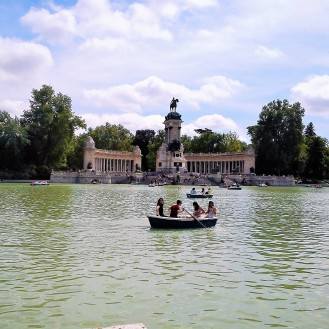 Parque El Retiro, Madrid, Spain