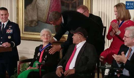 obama-presents-nasa-mathematician-katherine-johnson-with-the-presidential-medal-of-freedom-png