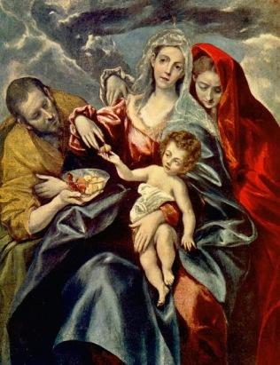 Αγία οικογένεια (1592)
